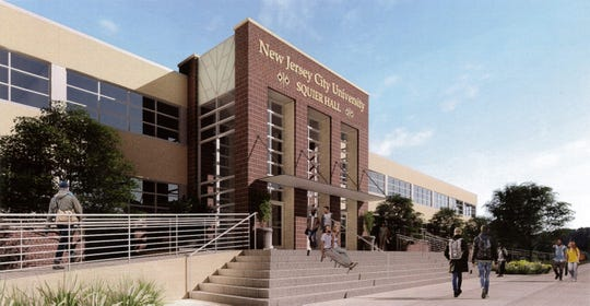 Rendering of New Jersey City University at Squier Hall at decommissioned Fort Monmouth.