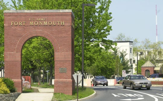 The entrance to Fort Monmouth.