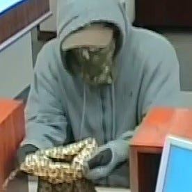 Toms River bank robbed by bandanna-wearing bandit