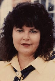 Jackie Ramsey Cox, in 1990 when she was honored as one of 11 women's Pathfinders.