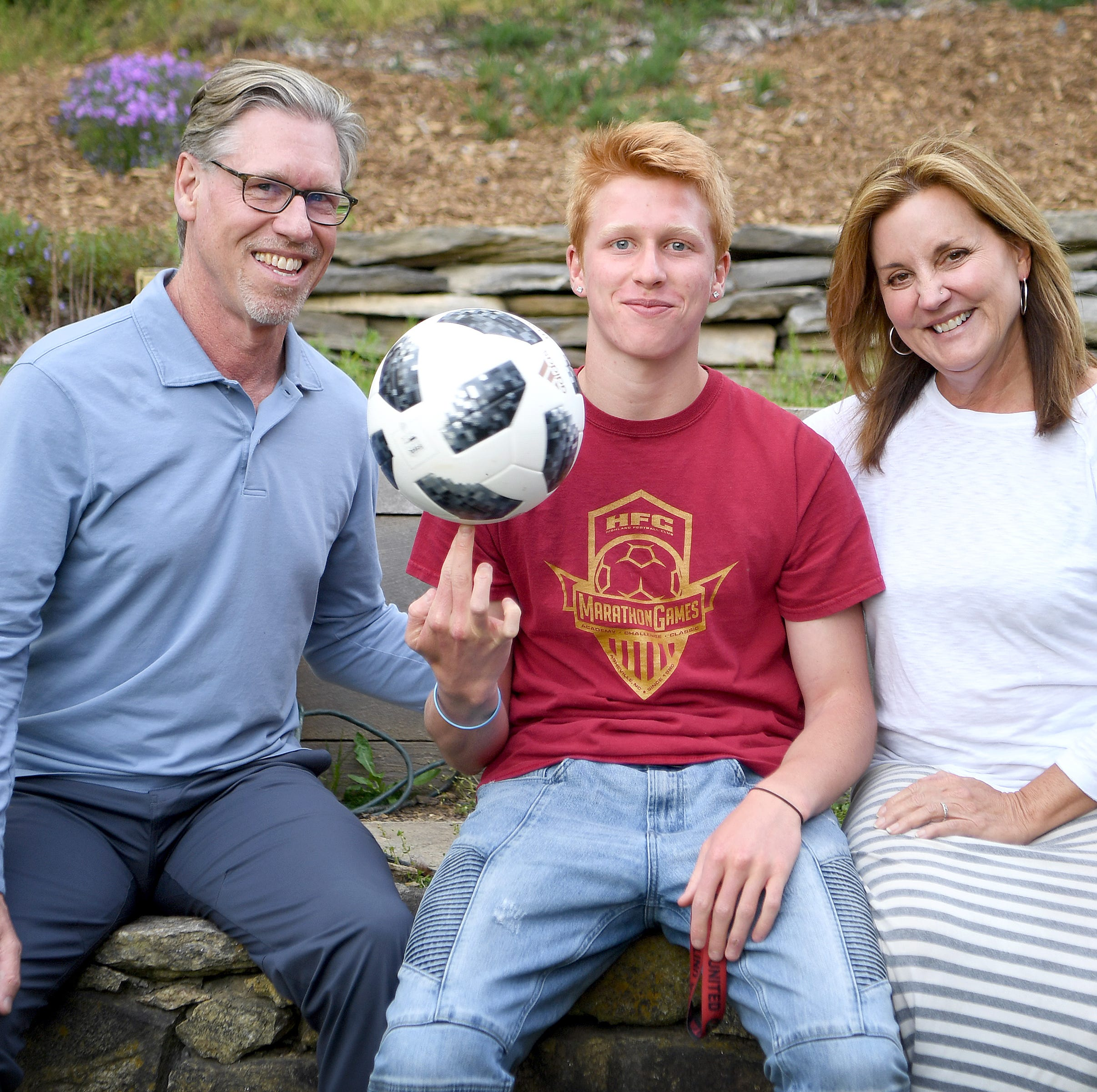 Asheville family begins professional soccer dream together