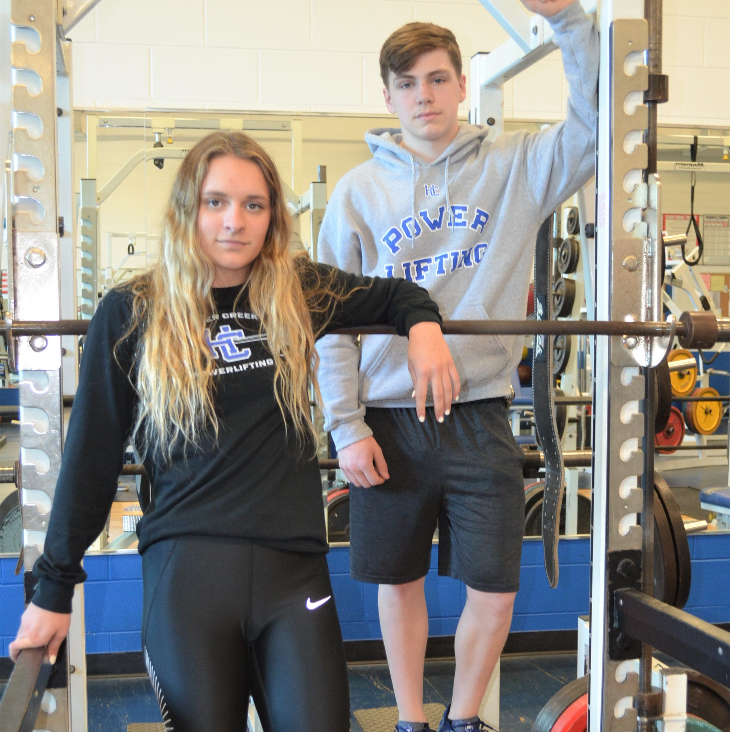 Harper Creek muscles up for some top finishes at state powerlifting competition
