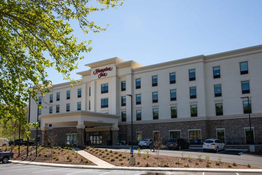 The Hampton Inn Black Mountain opened its doors on April 25.