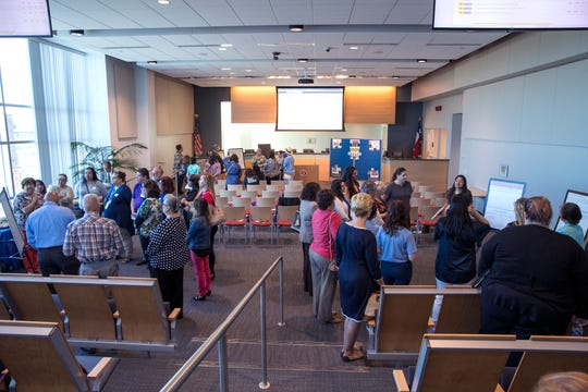 Business owners, organizations and groups throughout Nueces County learn about the Results-Based Accountability scorecard developed by the Success By 6 Coalition that utilized data-driven methodology to identify community issues and develop strategies for improvement on Thursday, April 25, 2019 at the Corpus Christi Regional Transportation Authority office.