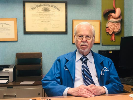 Maurice Grossman retired at the age of 91 after 63 years of practice in Corpus Christi as an internal medicine doctor.