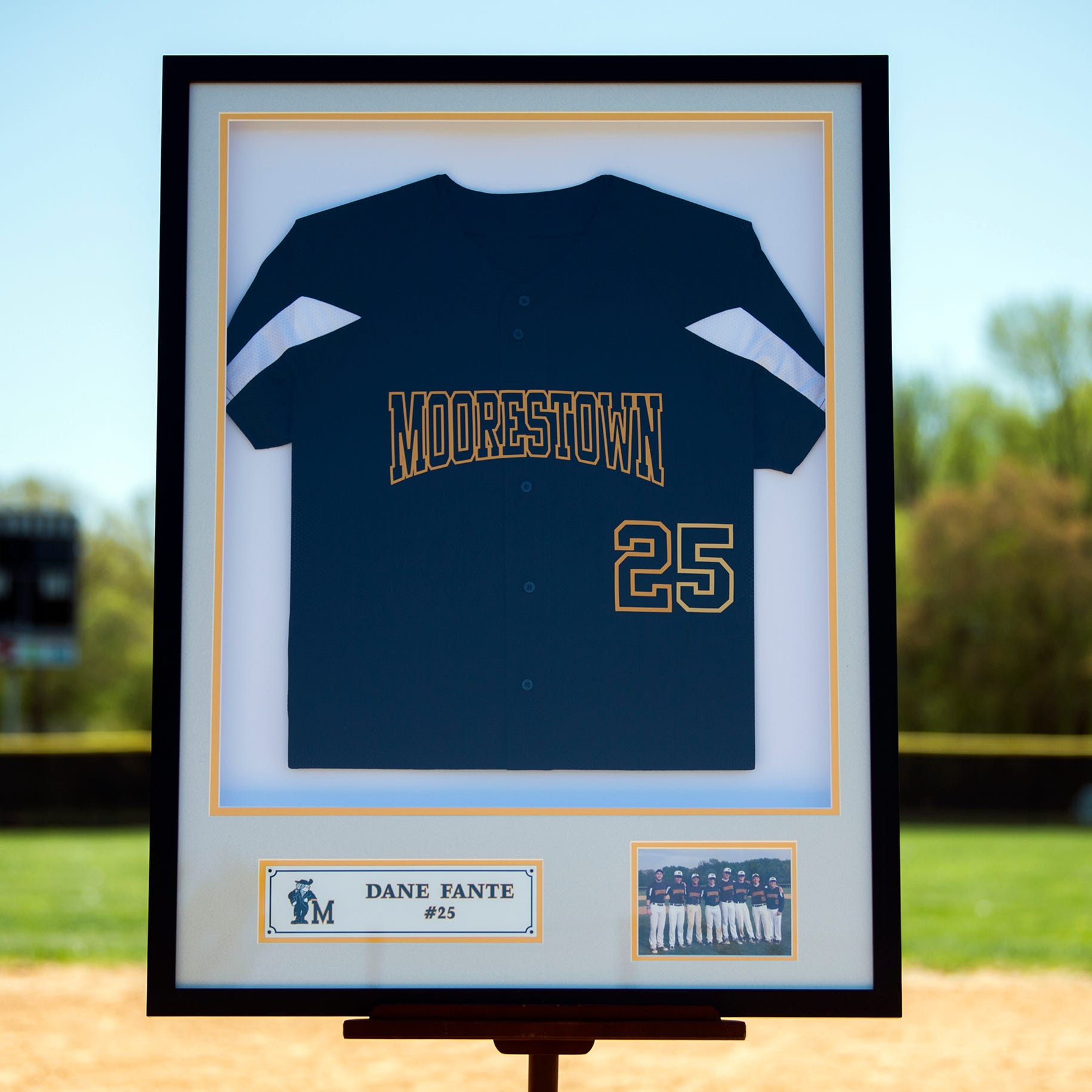 Moorestown naming baseball field after former player Dane Fante, who passed away in 2018