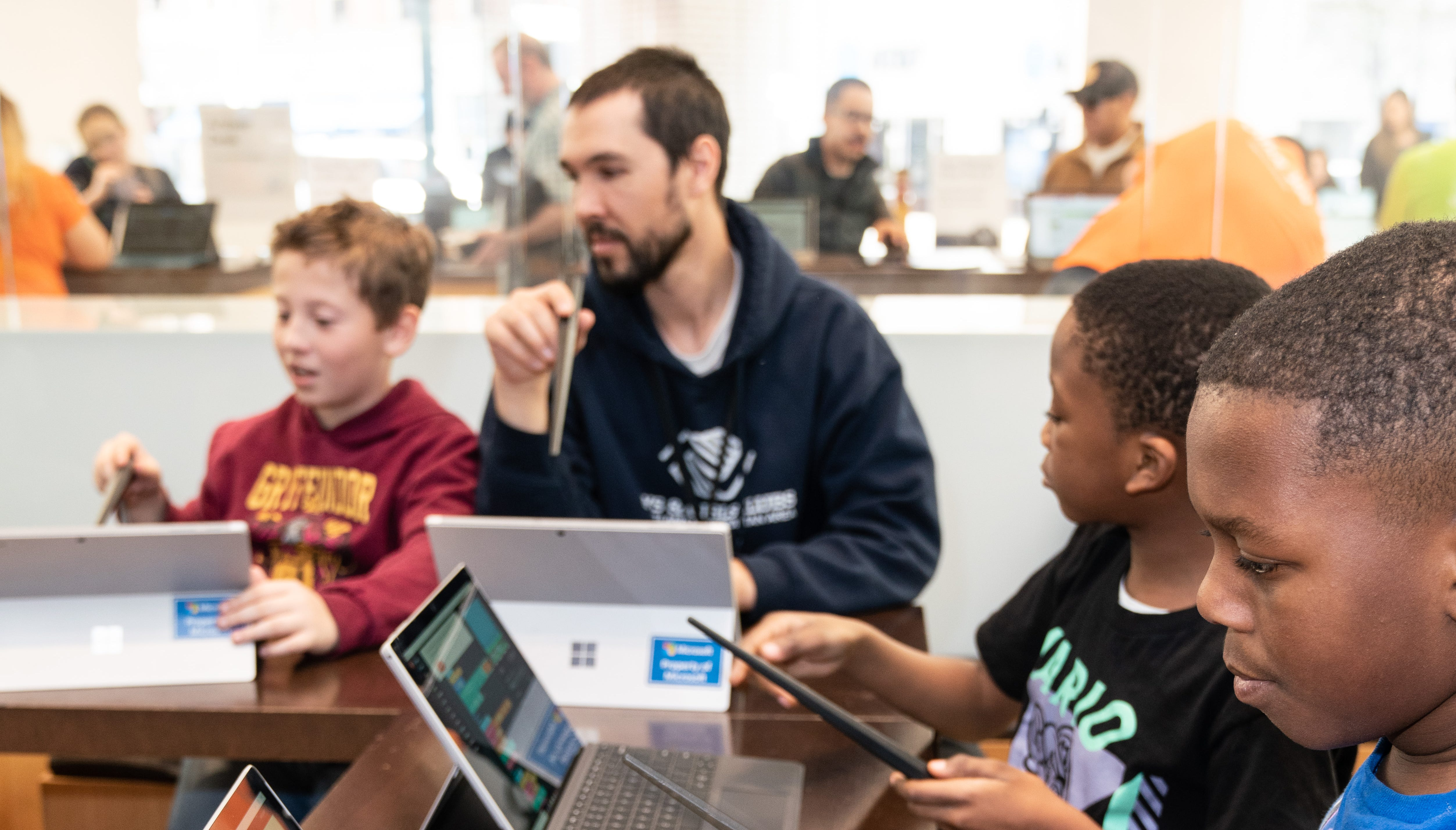 Free coding camp among activities this summer at Kenwood Microsoft store