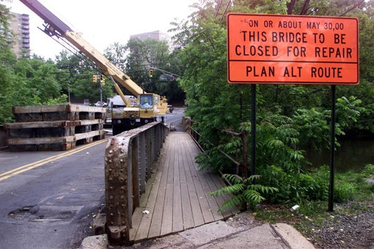 At the turn of the century, the Landing Lane bridge over the Delaware and Raritan was closed for a month for repairs. The state is planning on replacing the bridge in 2002.