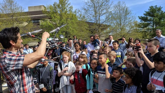 Verizon hosted close to 1,200 kids at Take Your Child to Work Day at its Basking Ridge headquarters. There were technology showcases, coding classes, drone demonstrations, relief package assembly for the Red Cross, and a Facebook Live with Family Online Safety Institute founder Stephen Balkam discussing parenting in the digital age.