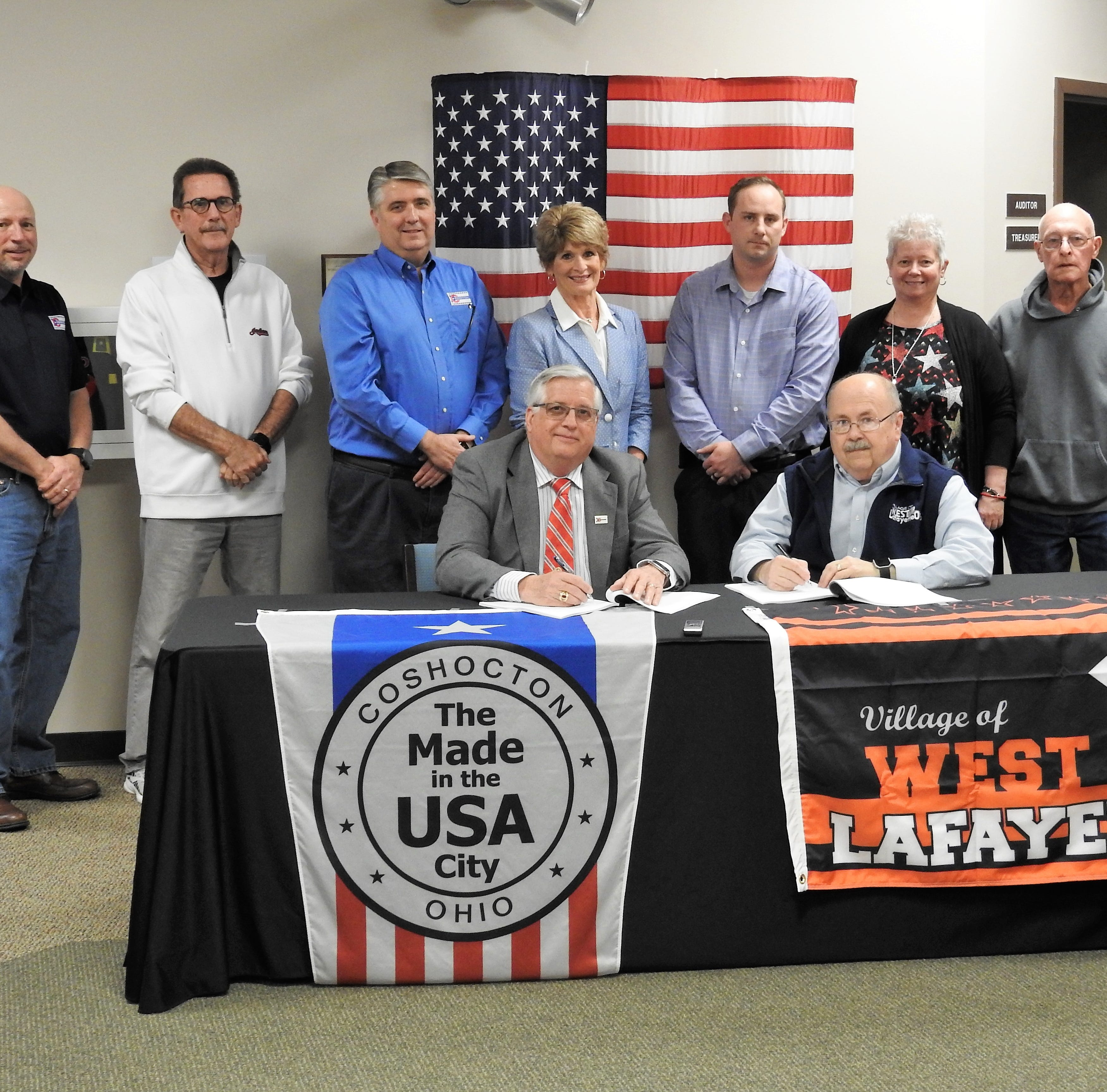Coshocton, West Lafayette water deal signed