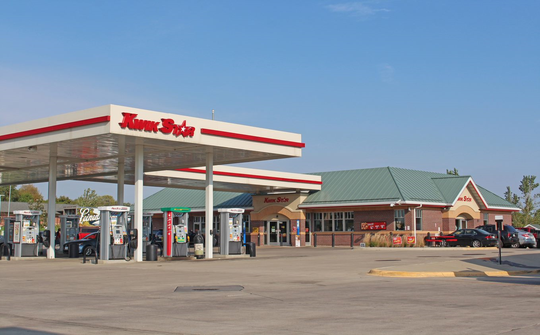 Kwik Trip operates 96 stores in Iowa under the Kwik Star and Tobacco Outlet Plus names. It has been named one of Iowa's Top Workplaces for seven years in a row.