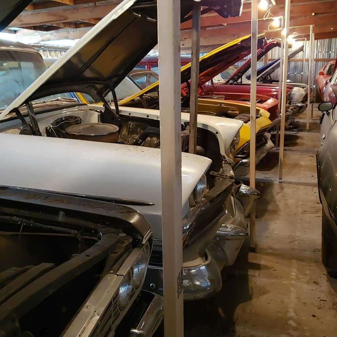 Massive collection of 110 vintage muscle cars revealed in southwestern Iowa ahead of auction
