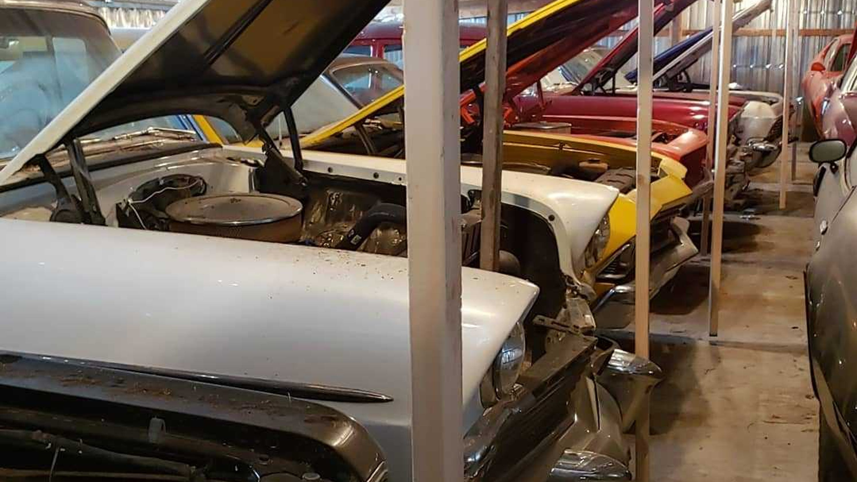 Iowa Man Reveals His 110 Strong Muscle Car Hoard Ahead Of Auction