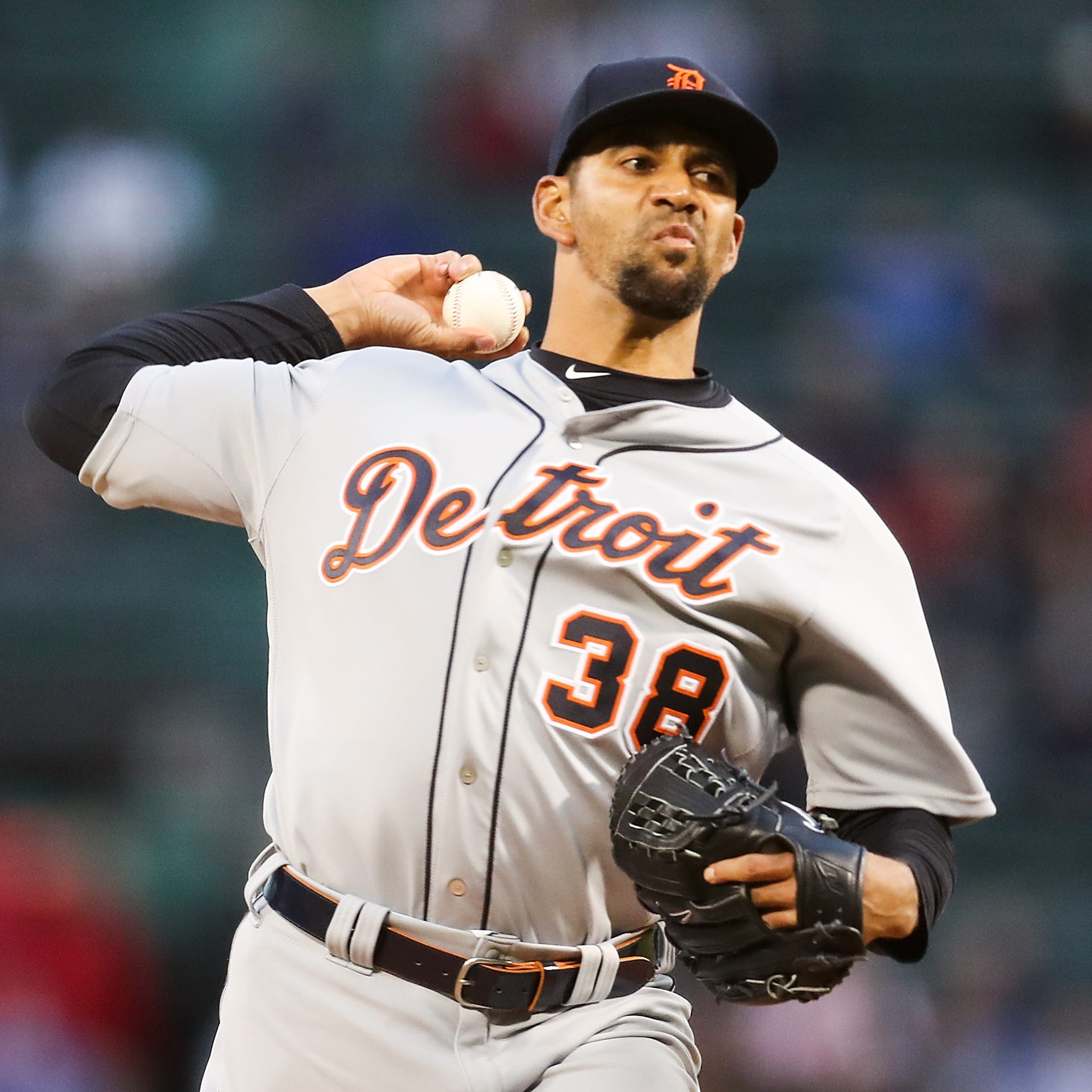 Detroit Tigers' newest father Tyson Ross praises his wife: 'She's a true champ'