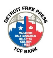 Detroit Free Press/TCF Bank marathon logo