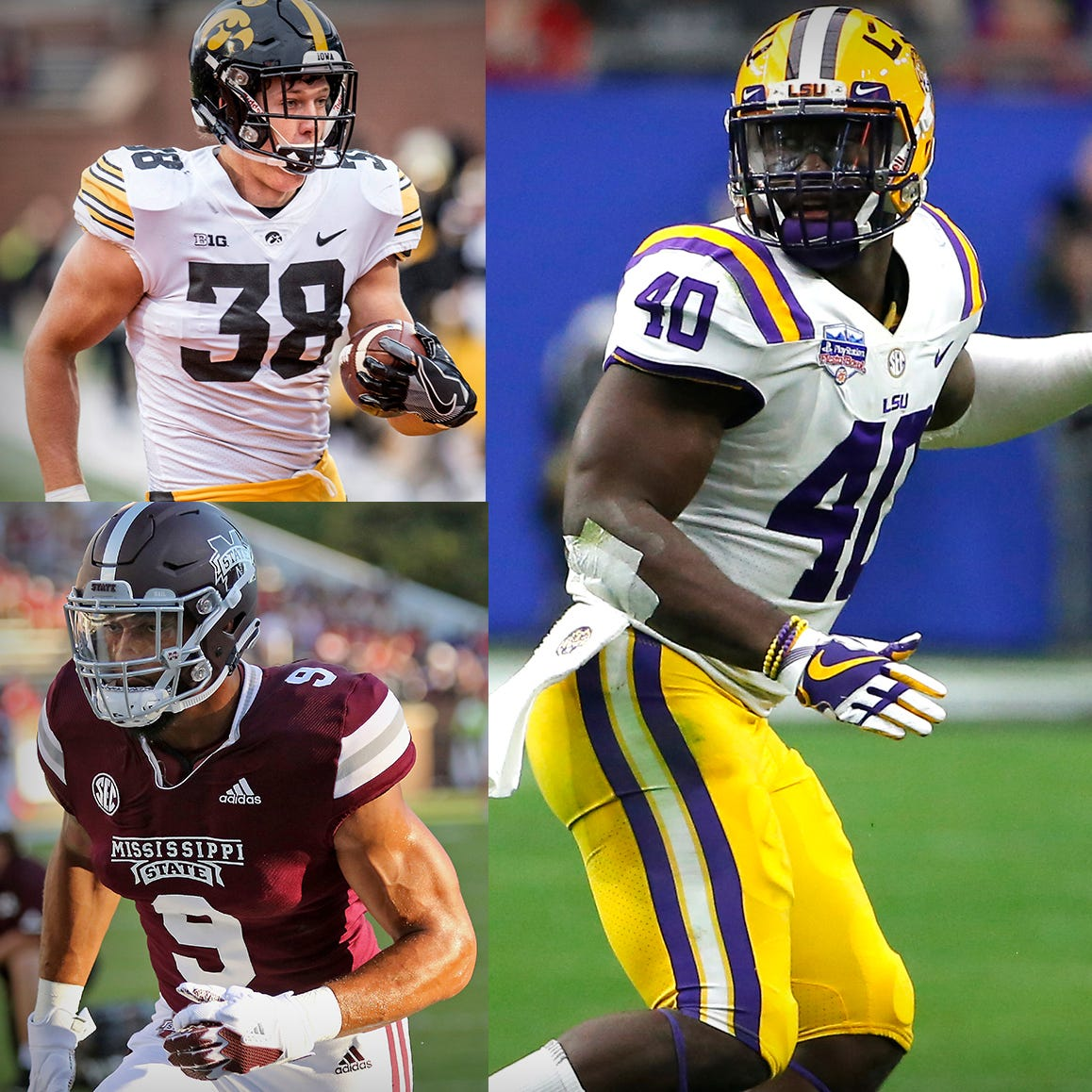 We examined 58 of the latest mock drafts, and the Lions will ... well, who the heck knows