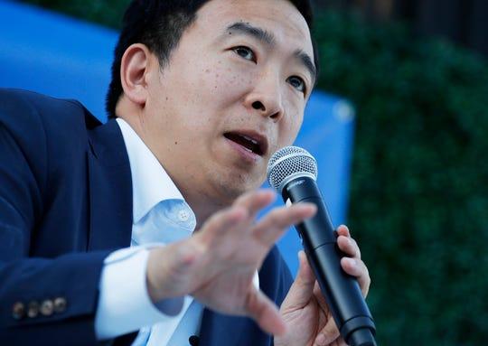 Entrepreneur Andrew Yang