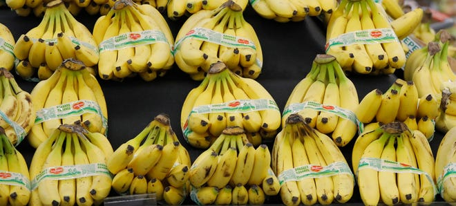 Bananas make good snacks, and if they get too ripe, they're perfect for banana bread.
