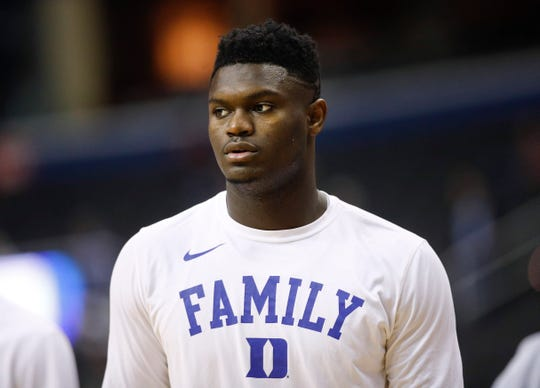 Duke forward Zion Williamson came up at a college basketball corruption trial as jurors heard a recording of a Clemson coach who seemed eager for help recruiting him.