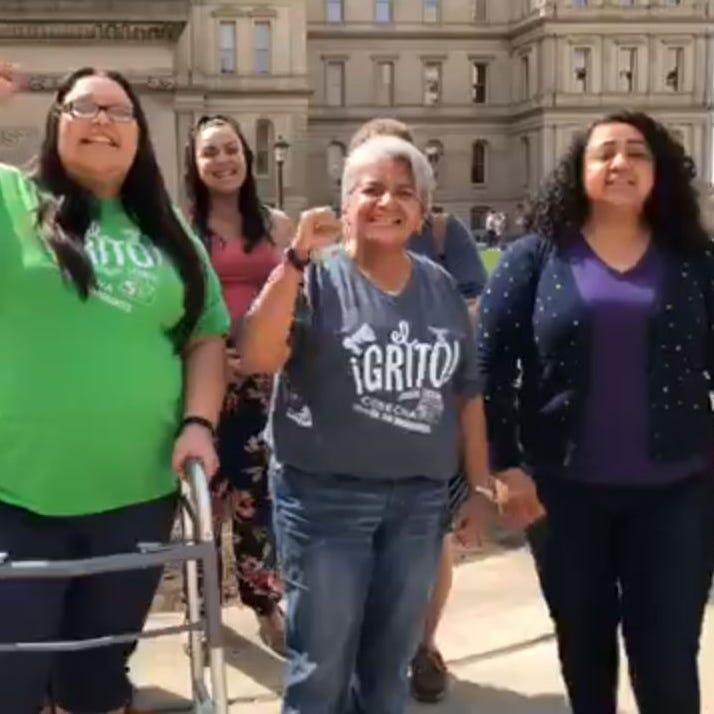 Michigan activists demand driver's licenses for undocumented immigrants