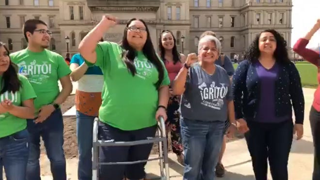 Leaders with Movimiento Cosecha Michigan have planned marches slotted for May 1in Detroit, Grand Rapids and Kalamazoo.