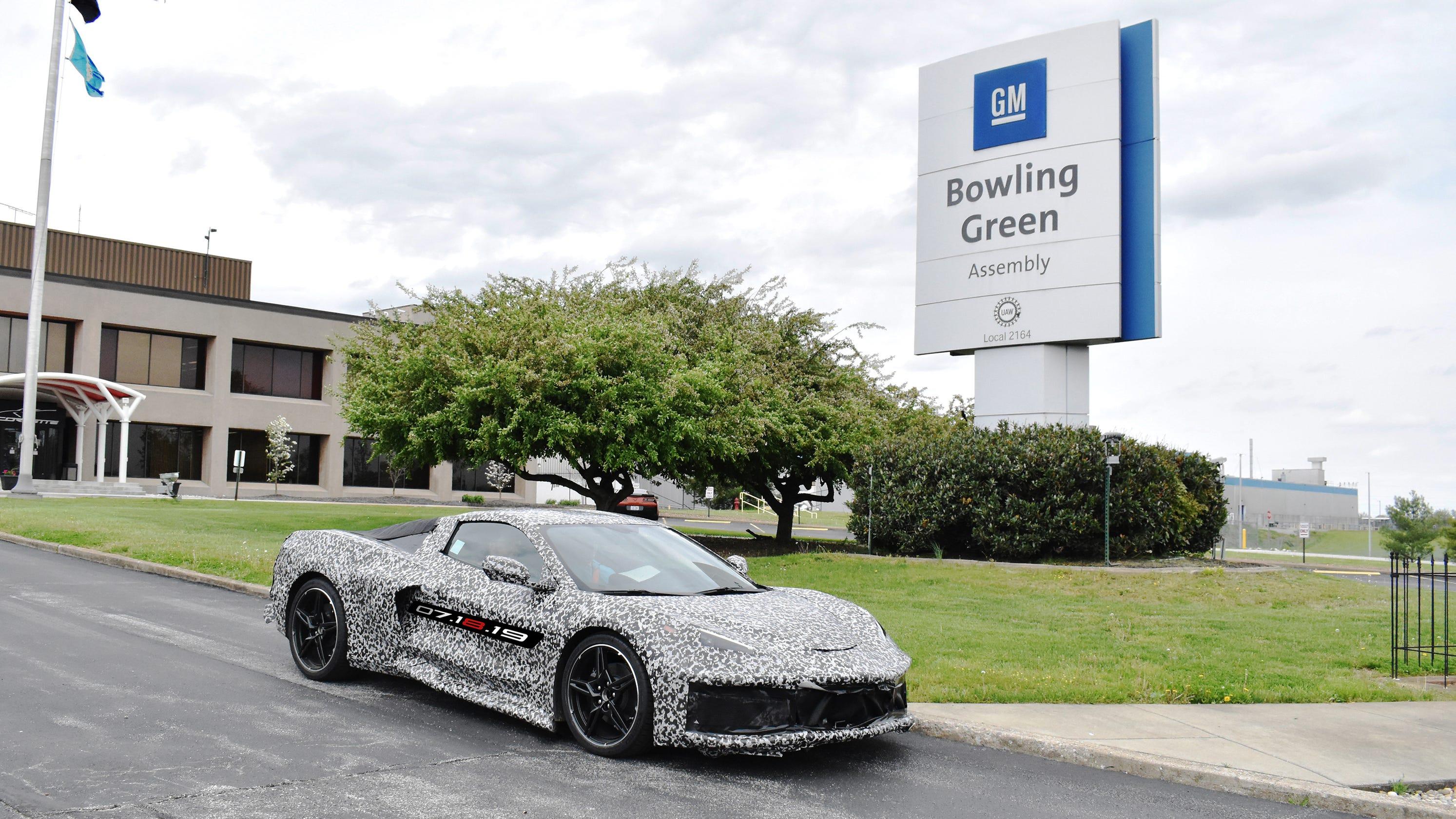 GM adding 400 jobs in Kentucky for mid-engine Corvette
