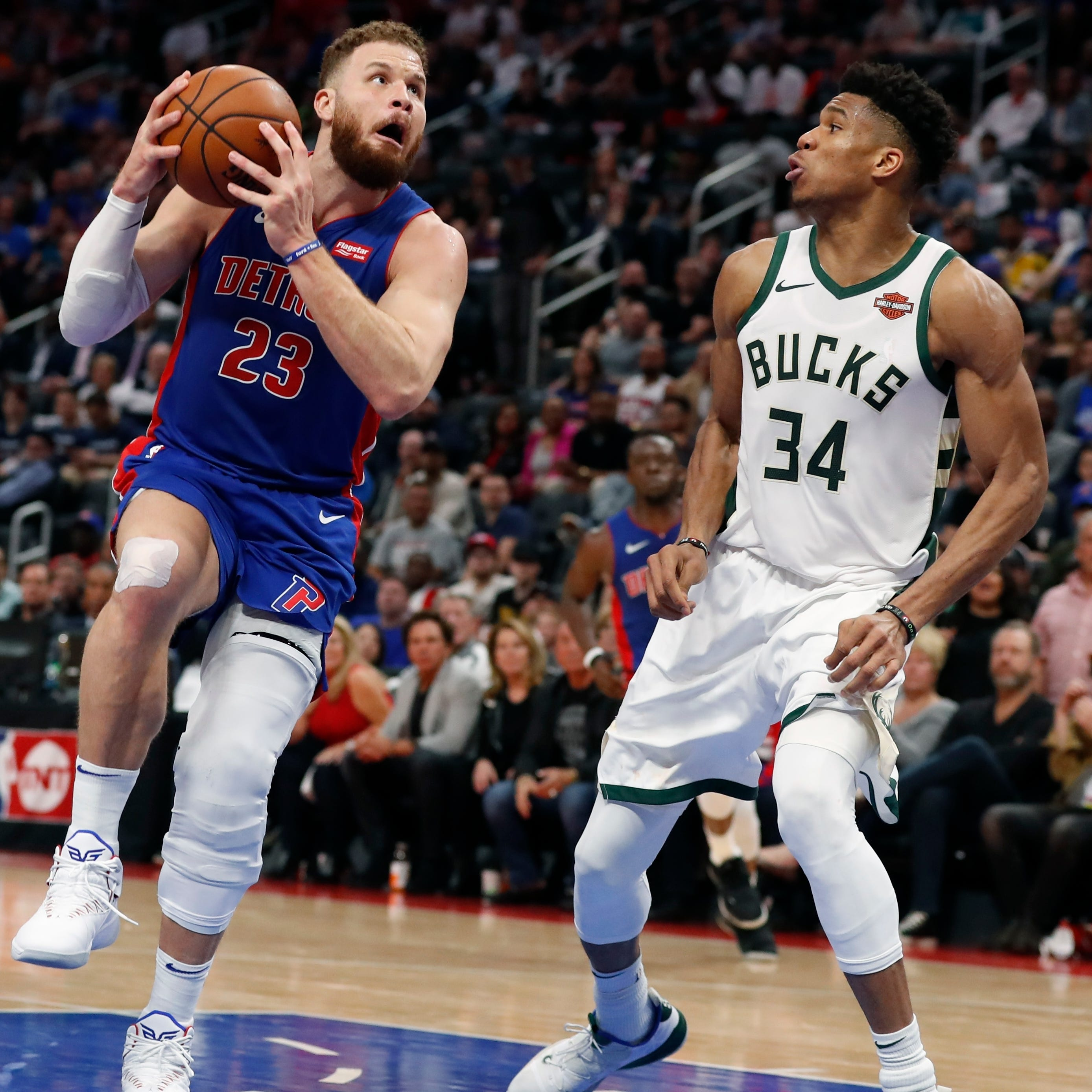 Pistons' Griffin has successful arthroscopic procedure on knee