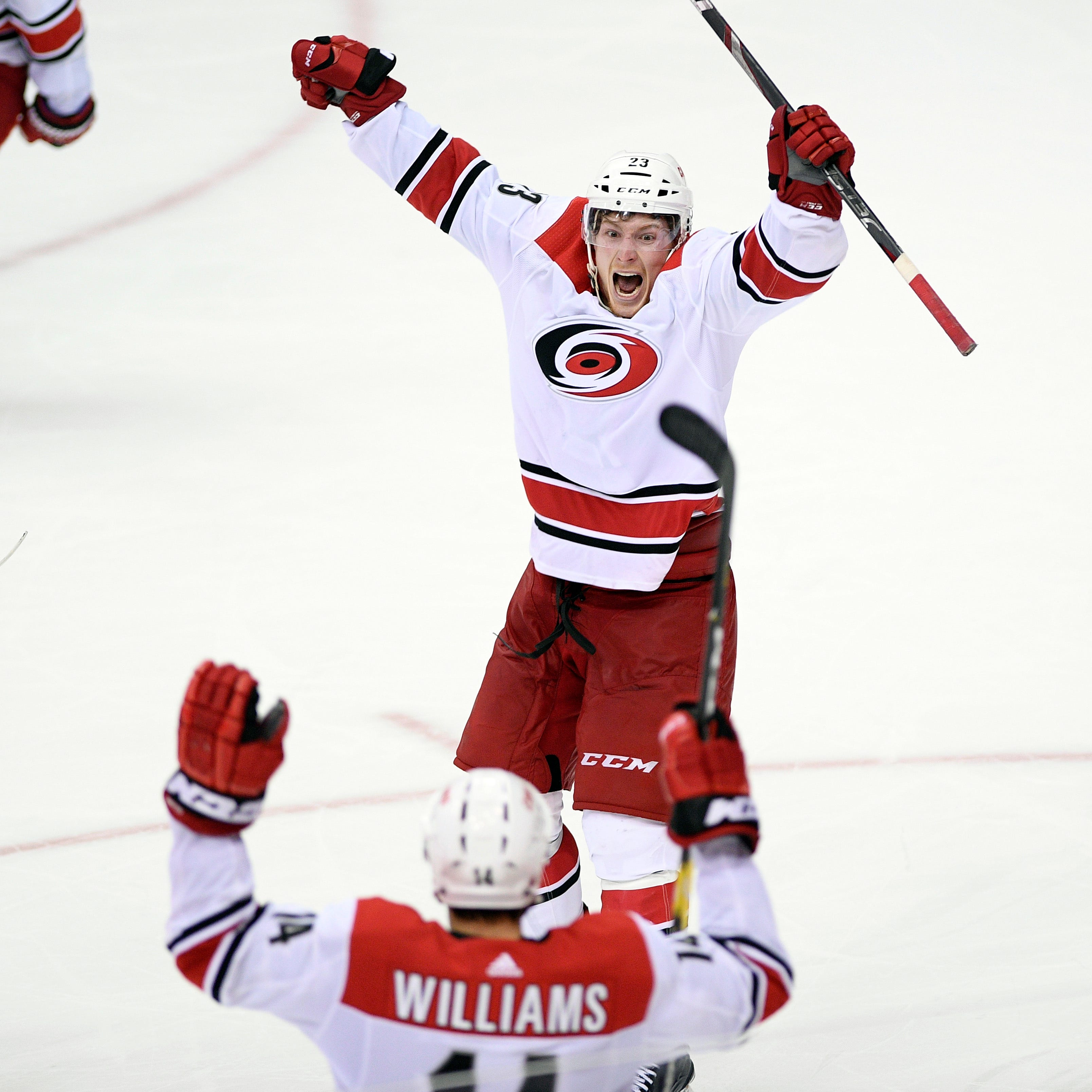 Wednesday's NHL playoffs: Hurricanes stun Capitals in double OT in Game 7
