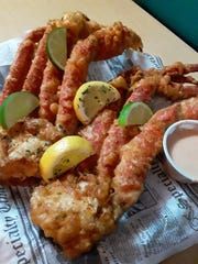 You may now try your snow crab legs deep fried at Catfish Willy's.