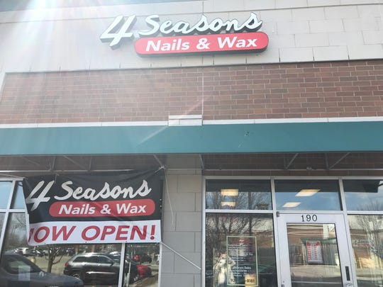 4 Seasons Nails & Wax moved from its location in Forest Mall to 190 W. Johnson St.