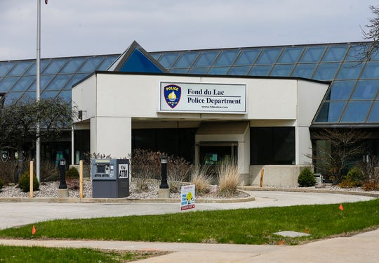 Fond du Lac Police Department. Thursday, April 25, 2019. Doug Raflik/USA TODAY NETWORK-Wisconsin