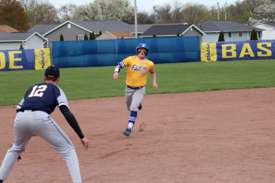 Clyde's Ryan Lozier had an RBI-double against Norwalk.