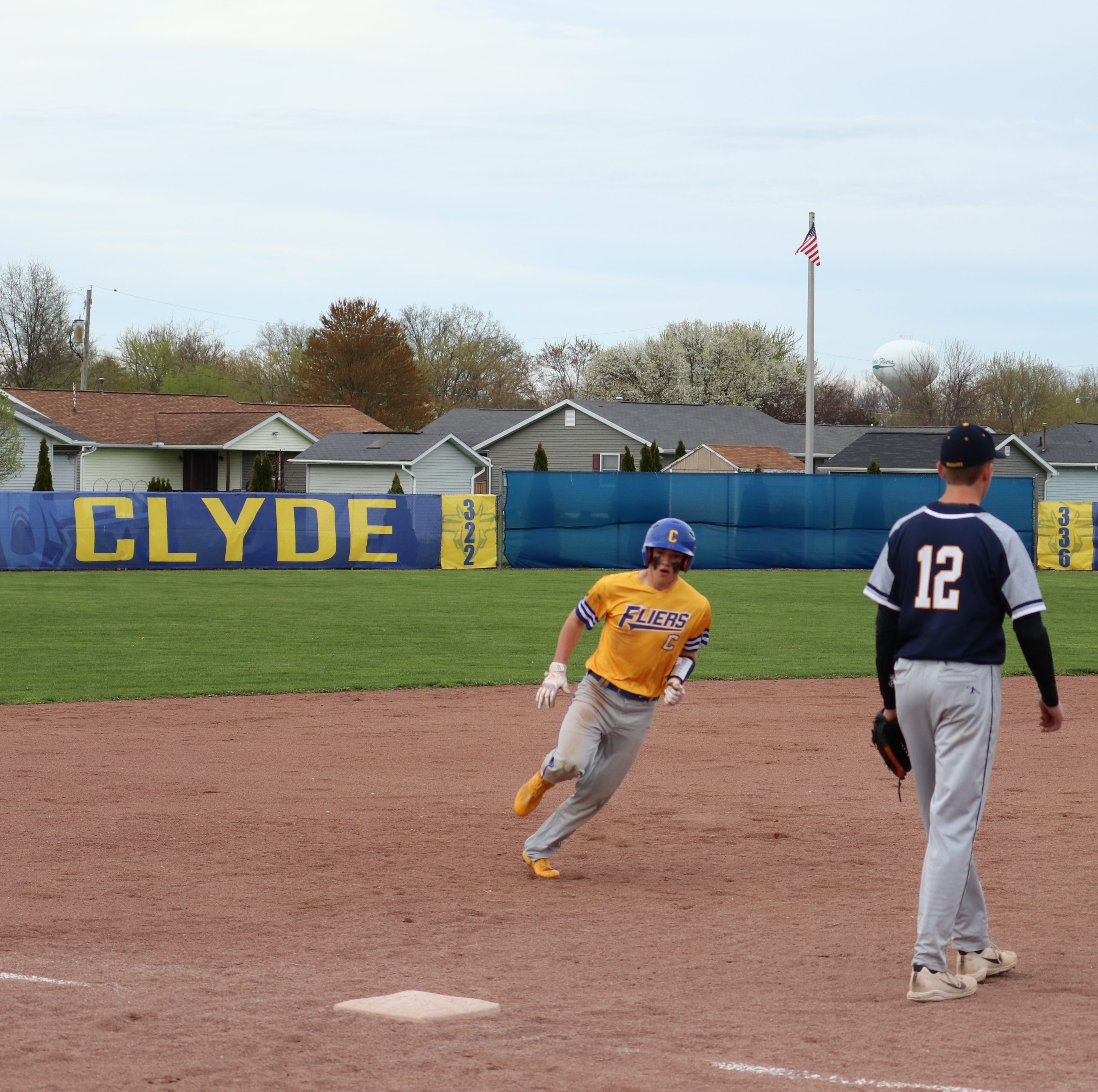 Clyde freshman Will Lozier leads off varsity career atop lineup