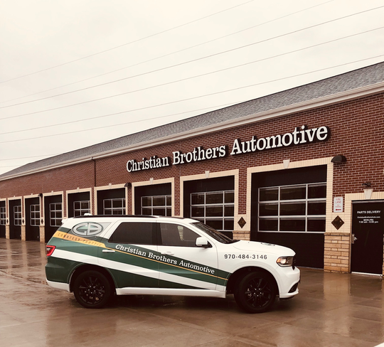 Christian Brothers Automotive opened at 1500 Academy Court just off Prospect Road, west of Timberline Road.