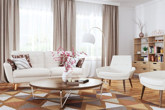 If you are leaning toward making your area rug the focal point of the room, start there and design the rest of the space around it.