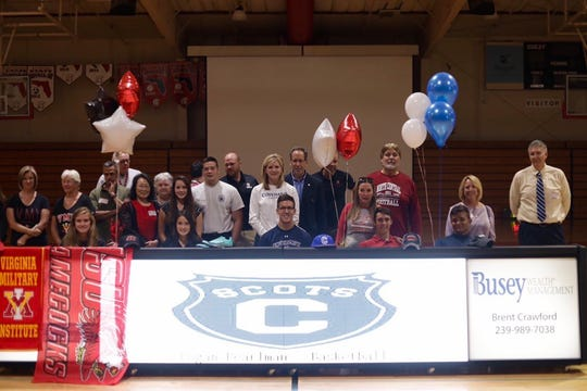 Five student-athletes from Evangelical Christian signed their letters of intent on Thursday to continue their athletic careers.