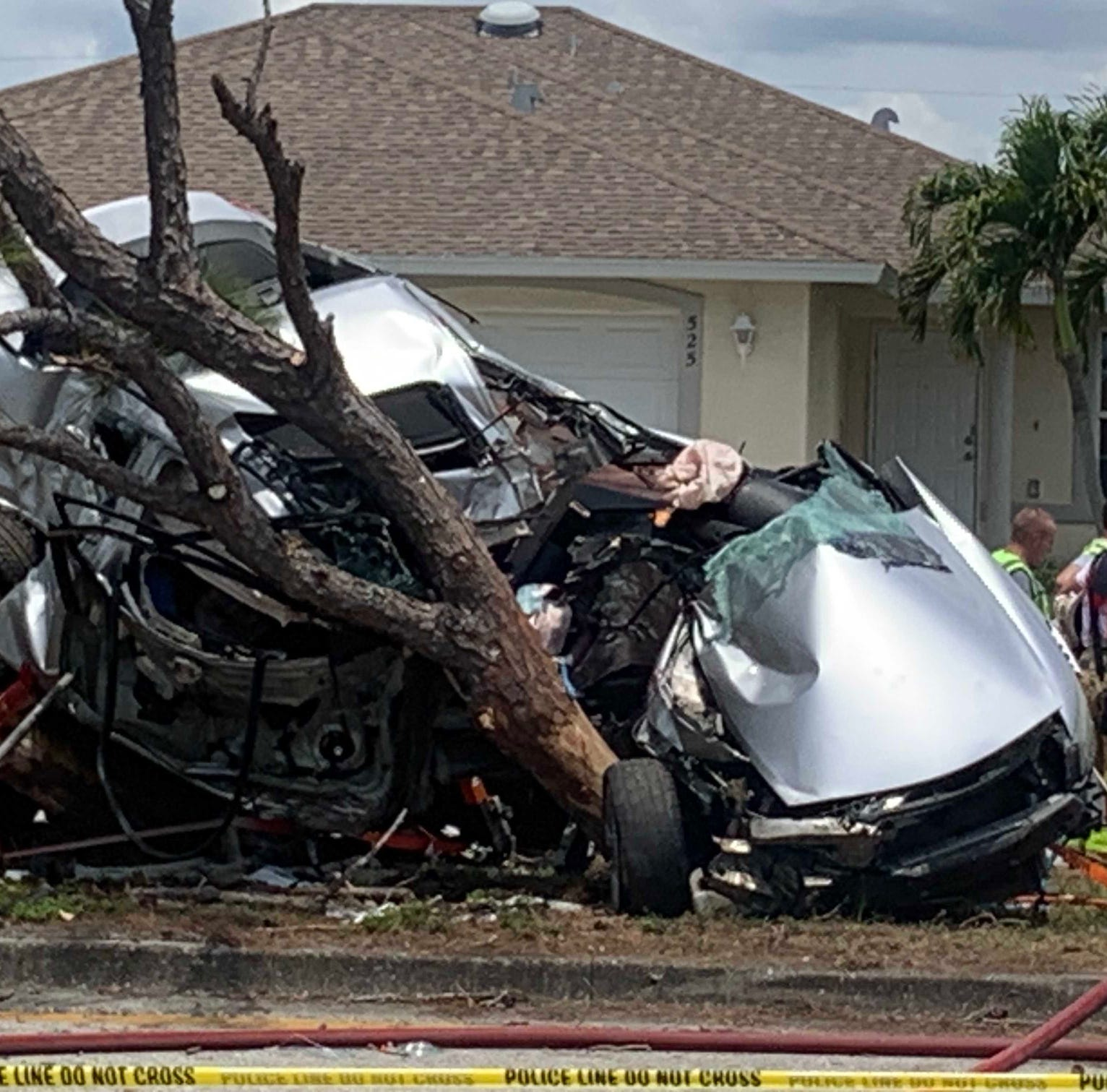 Serious crash with injuries closes portion of Hancock Bridge Parkway in Cape Coral