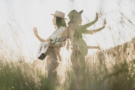 Roots music duo Rising Appalachia is in concert July 30 at Door Community Auditorium.