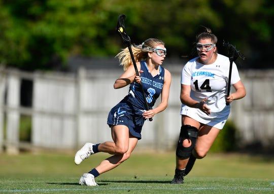 Christ Church lacrosse player Kate Faris (3).