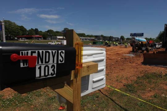 A new Wendy's location is coming to Powdersville, the opening date has not been set but construction is well underway on State 153.