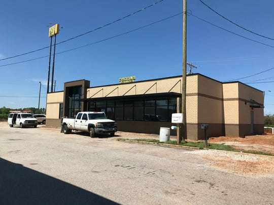 The Powdersville BP station, directly off of Interstate 85 on State 153,  will soon expand into a far larger  3,500 square foot building behind the current store.