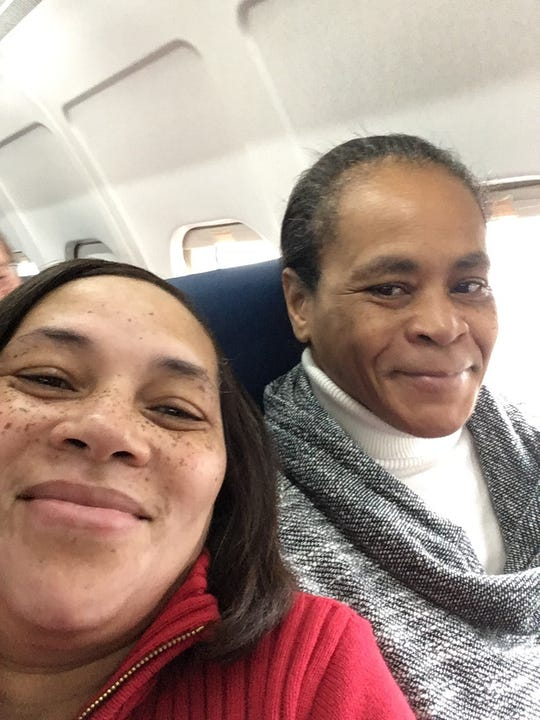 Claudette Purry (Right) with her youngest sister Tandy. Purry, 54, was fatally shot at her home in Pickens on April 17, 2019.