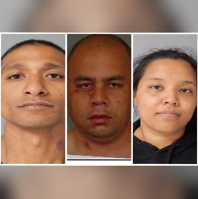 Police searching for 3 wanted in connection with string of robberies