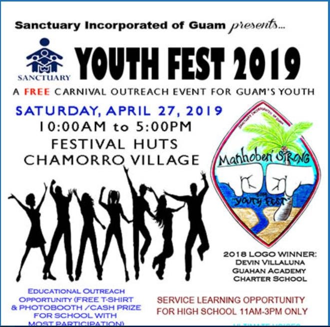 Youth Fest will be held Saturday, April 27 at Chamorro Village