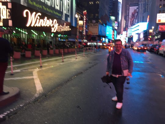 Mike Lopinto, with the University of Mississippi,  embarks on a Broadway musical marathon while in New York City this month.