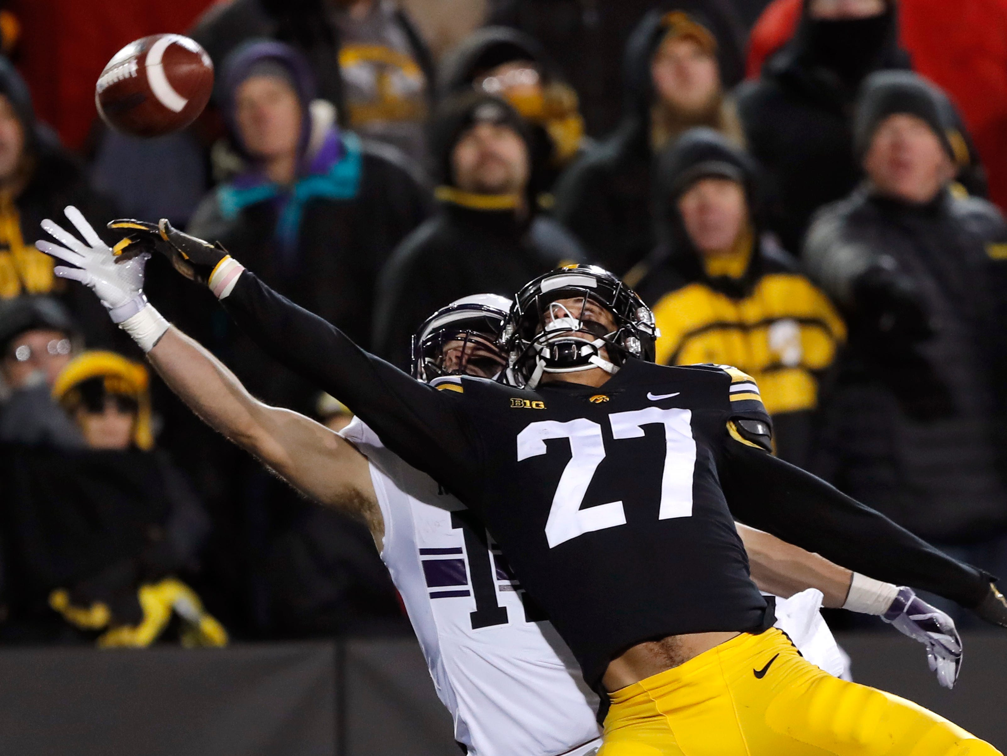 Amani Hooker was the third Hawkeye off the board at the NFL draft.