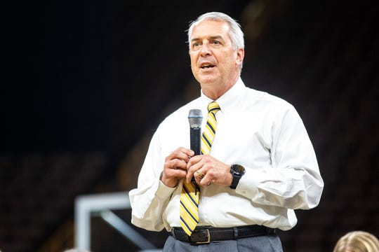 Iowa athletic director Gary Barta said Friday that he's looking for the opportunity to schedule a neutral-site football game again in the future. The next opening on the Hawkeye schedule is in 2024.