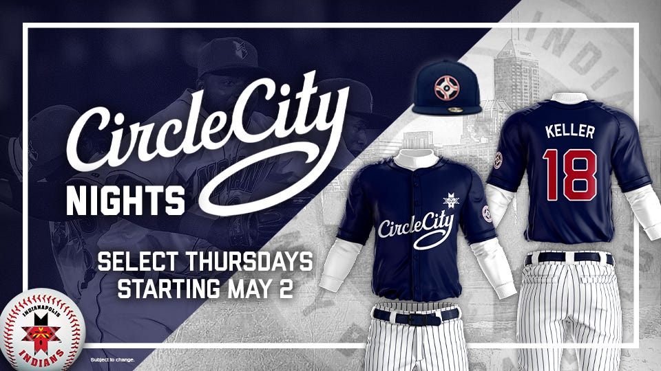 a30095aab Indianapolis Indians reveal new  Circle City Nights  alternate jersey