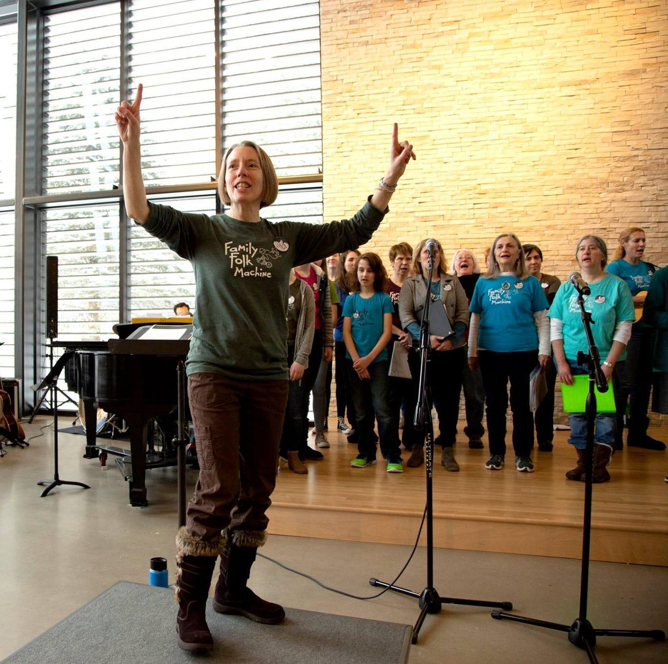 Family Folk Machine performance set to brighten community