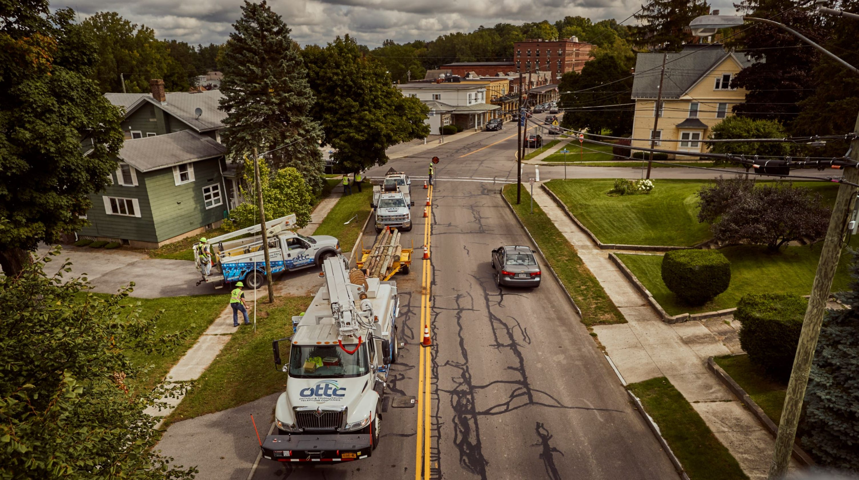 So long Spectrum? Optical fiber network installed in Trumansburg